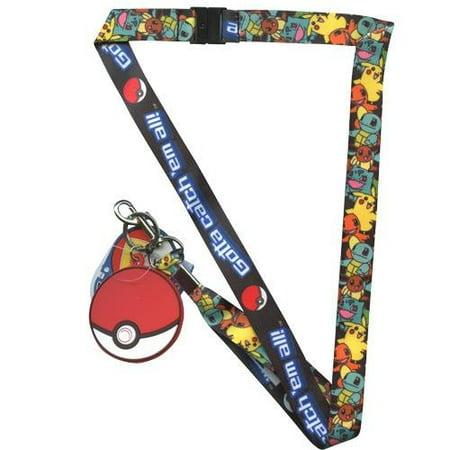 Pokemon Gotta catch' em all! Lanyard, Officially Licensed By Pokmon - Pokemon Lanyard