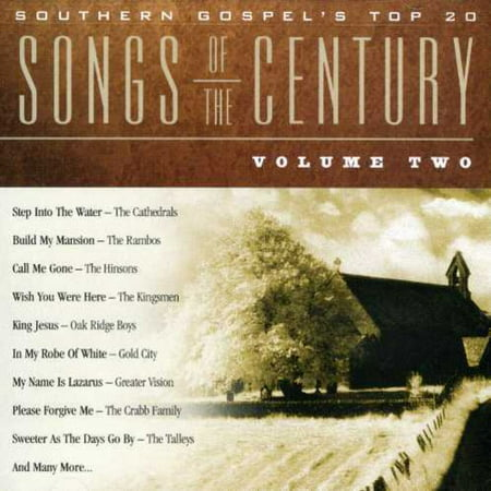 Southern Gospel's Top 20: Songs Of The Century, Vol. 2 (CD)](Top 20 Halloween Songs Of All Time)