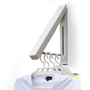 Vgeby Folding Clothes Hanger Wall Mounted Retractable Clothes Drying