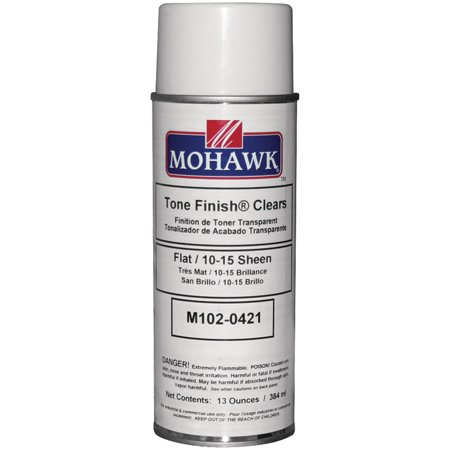 - Mohawk Finishing Products M102-0421 Clear Flat Lacquer Spray