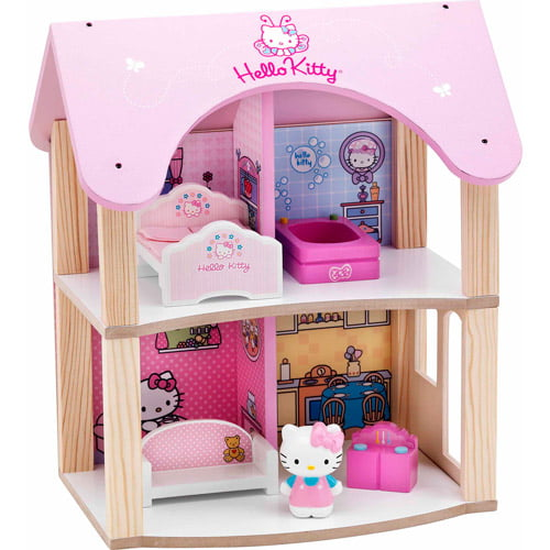 Hello Kitty Summer House Dollhouse by Generic