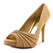 thalia sodi womens marissa open toe platform pumps, black snake, size 9.5