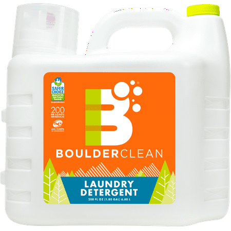 Boulder Clean Laundry Detergent Citrus Breeze 200 Oz