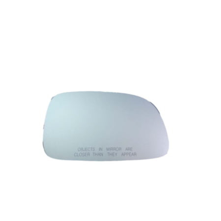 90199 - Fit System Passenger Side Mirror Glass, Jeep Grand Cherokee 99-04