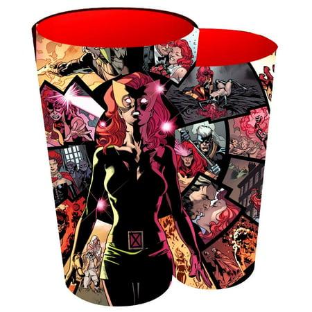 Pint Glass - X-men - Jean Grey Shattered Dark Phoenix 16oz New (Jins Glasses)