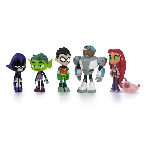"Teen Titans Go Teen Titans Action Figure (6-Pack), 2""..., By Teen Titans Go! Ship from US by"