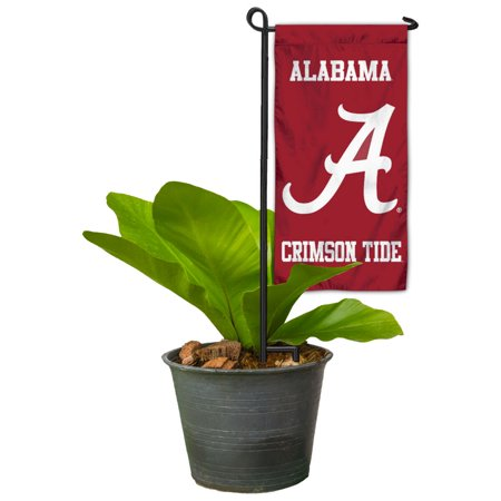 University of Alabama Mini Flower Pot and Garden Bed Mini Flag Marker