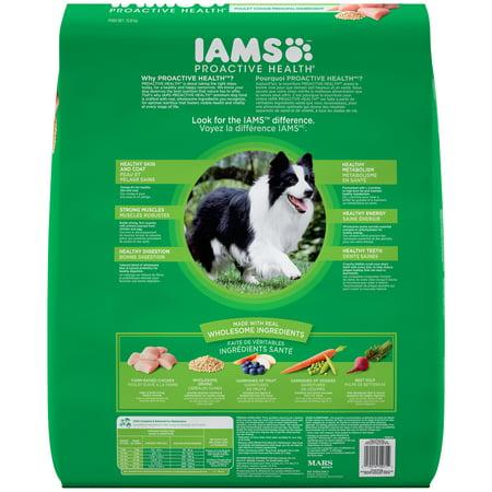 Iams Proactive Health Chunks  Dog Food  Lbs