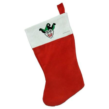 Batman Joker Symbol Christmas Holiday Felt Stocking ()