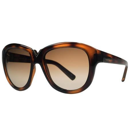Valentino-V-663-S-209-Havana-Brown-Round-Sunglasses