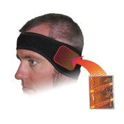 HEAT FACTORY Headband, Black, Universal 1761