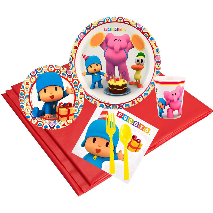 Pocoyo 24-Guest Party Pack