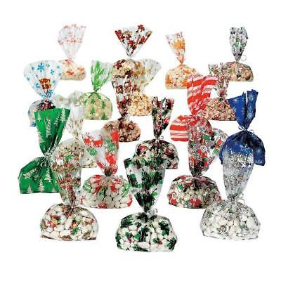IN-4/2677 Mega Holiday Cellophane Bag Assortment 240 Piece(s)