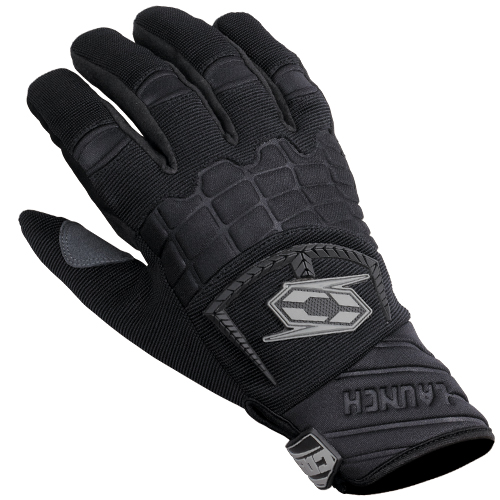 Castle X Launch Mens Snowmobile Gloves Black