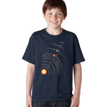 crazy dog tshirts - youth planets with sun t shirt cool solar system outerspace tee for - Crazy Biker Girls