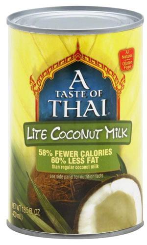 A Taste of Thai Coconut Milk Lite Gluten Free 13.5 fl oz by ANDRE PROST