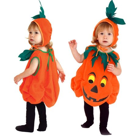 Baby Boy Girl Halloween Fancy Dress Party Costume Outfit Clothes+HAT Set 3-6Y (Baby Fancy Dress Halloween Costumes)