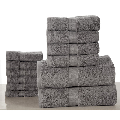 Affinity Linens Elegance Spa 12 Piece Towel Set