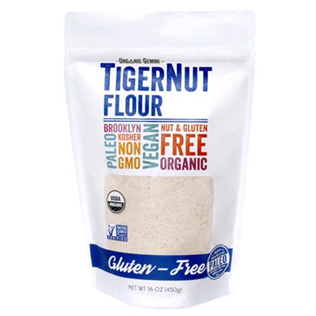 Organic Gemini Nut Flour Tiger Org,16Oz (Pack Of 6) ()