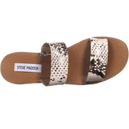 6a1c6cc21719 Steve Madden Womens Rage Open Toe Casual Slide Sandals - image 1 of 2 ...