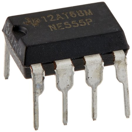 NE555P Single Precision Timer (Pack of 10), Timing From Microseconds to Hours By Texas Instruments