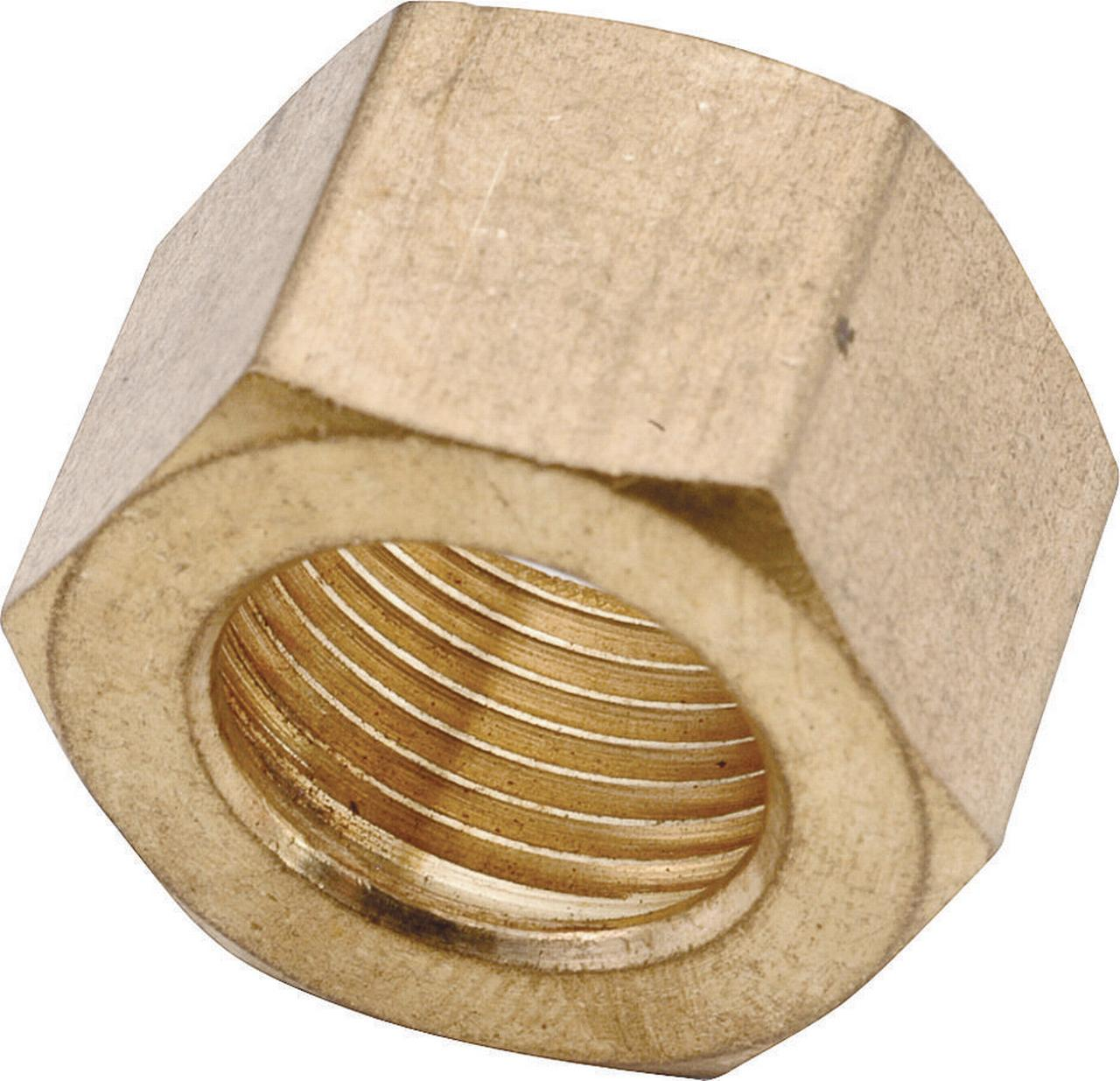 Anderson Metals 730061-10 Compression Nut, 5/8 in, Brass