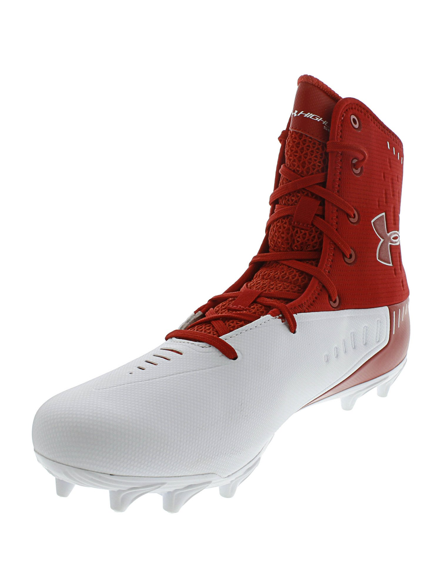 Details about  /Under Armour Highlight MC Men/'s Football Cleats Red White Multiple Sizes