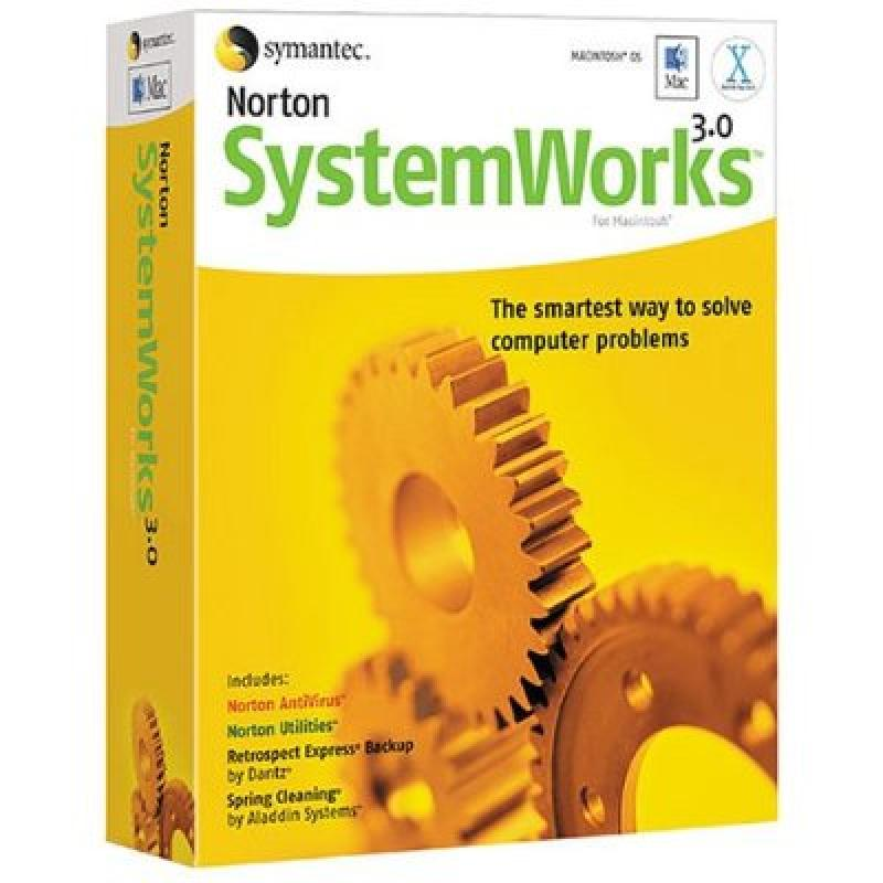 Norton Systemworks for Mac 3.0