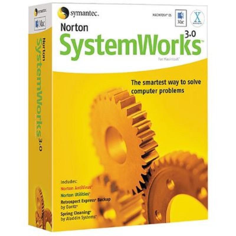 Norton Systemworks for Mac 3.0