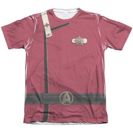Star Trek Men's  Admiral Kirk Uniform Sublimation T-shirt White](Official Star Trek Uniforms)