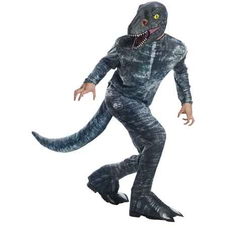 Jurassic World: Fallen Kingdom Mens Velociraptor Halloween Costume (Adult Fallen Angel Costume)