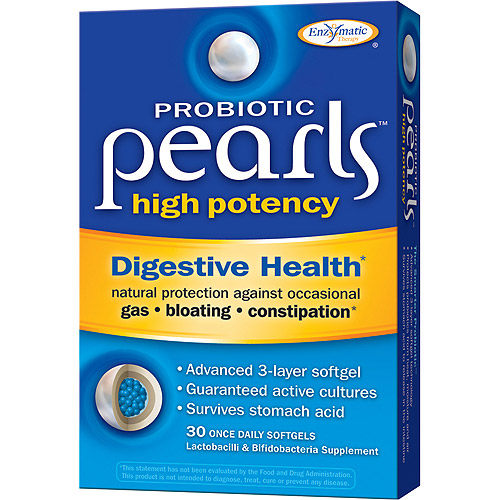 Pearls Probiotic High Potency Softgels, 30ct