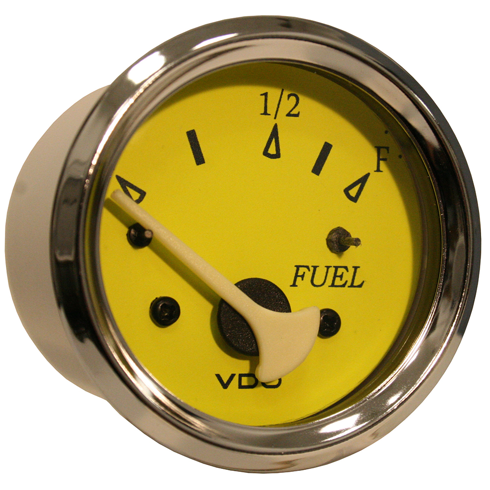 VDO ALLENTARE YELLOW/BLUE FUEL LEVEL GAUGE USE WITH MARINE