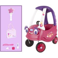 Little Tikes Superstar Cozy Coupe Themed Role Play Ride-On Toy, Multicolor