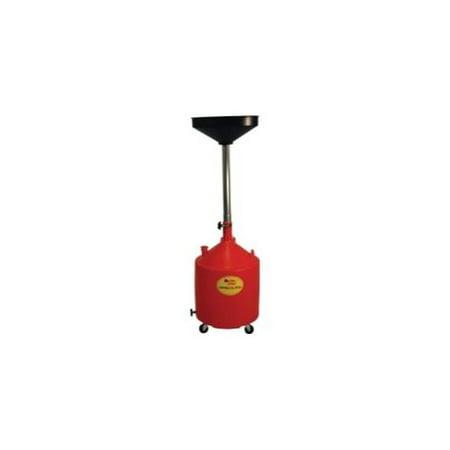 John Dow Industries Jdi 18Dcp 18 Gallon Poly Portable Oil Drain