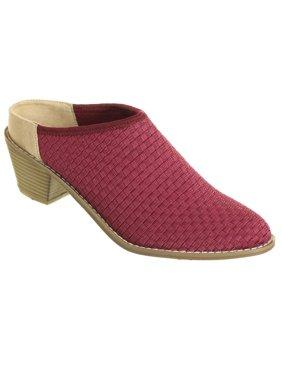 Zee Alexis Womens Michelle Clog Shoes Cranberry 8.5 M