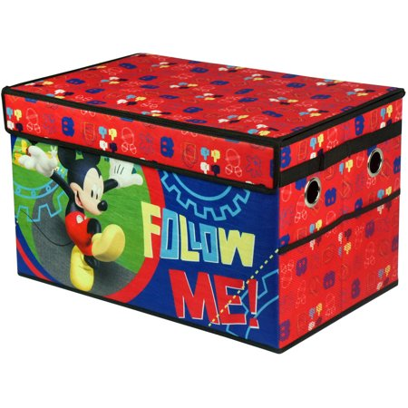 Dora Toy Box - Mickey Mouse Collapsible Toy Storage Trunk