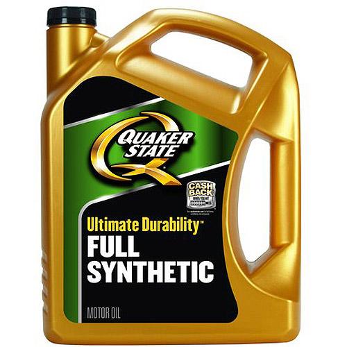 Quaker State Ultimate Durability 5W30 Motor Oil, 5 qt