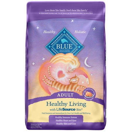 Blue Buffalo BLUE Healthy Growth Dry Kitten Food, Chicken & Brown Rice Recipe, 10-lb