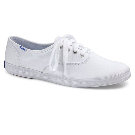 Keds Women's Champion Canvas Shoe, Brand NEW - (Navy Flower Girl Shoes)