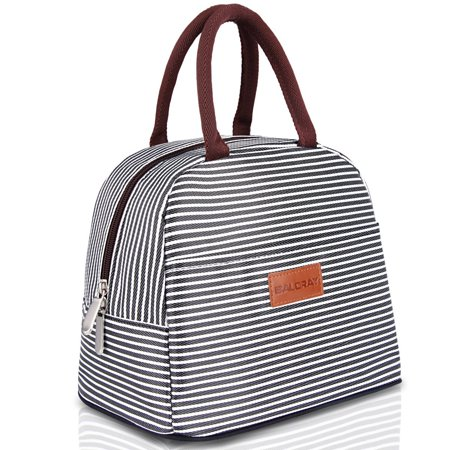 - BALORAY Lunch Bag Insulated Lunch Box for Adults,men and women(stripe)
