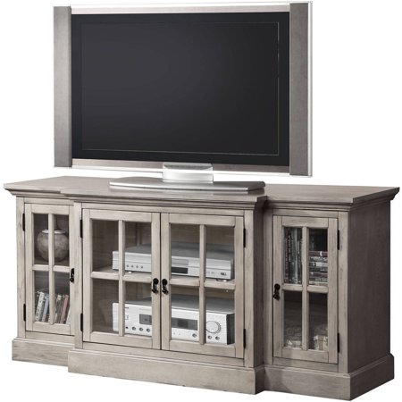 acme julian sandwashed gray tv stand for flat screen tvs up to 70. Black Bedroom Furniture Sets. Home Design Ideas