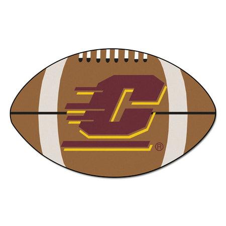 Central Michigan Football Rug 20.5