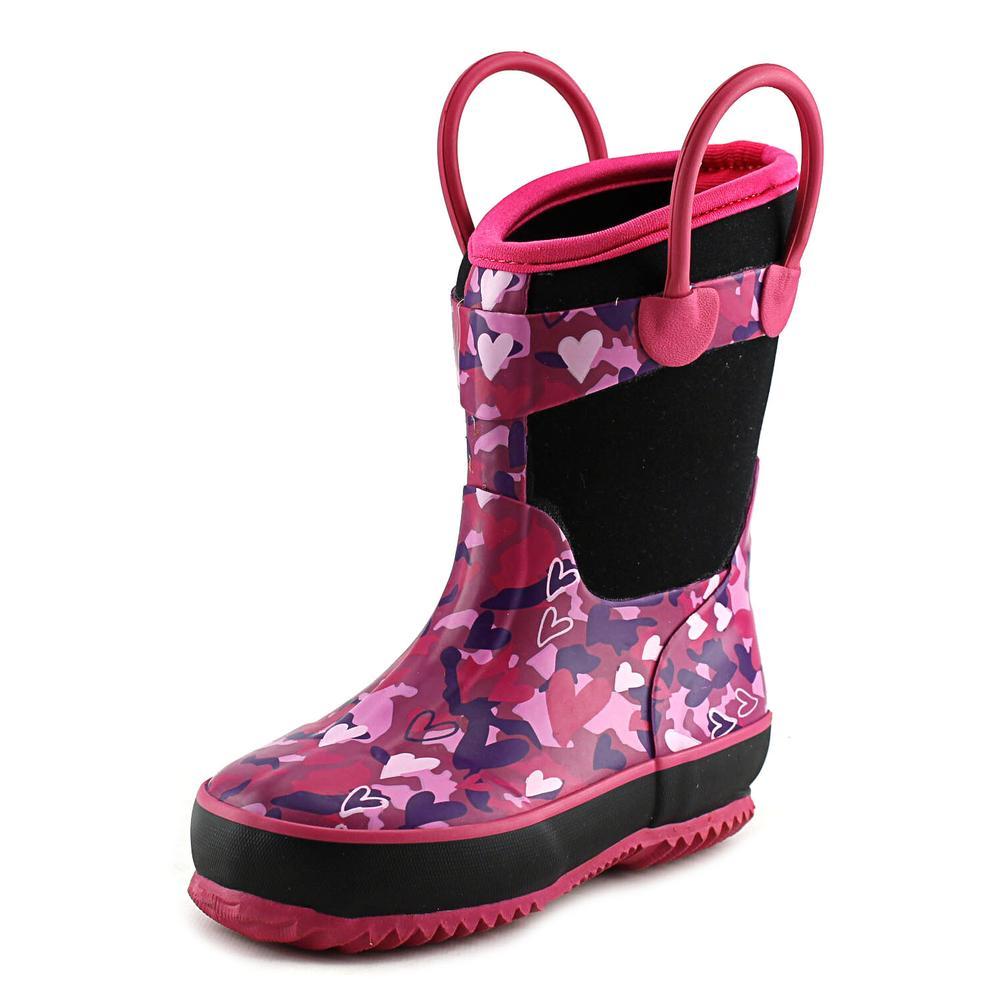 Western Chief Heart Camo Neoprene   Round Toe Synthetic  Rain Boot