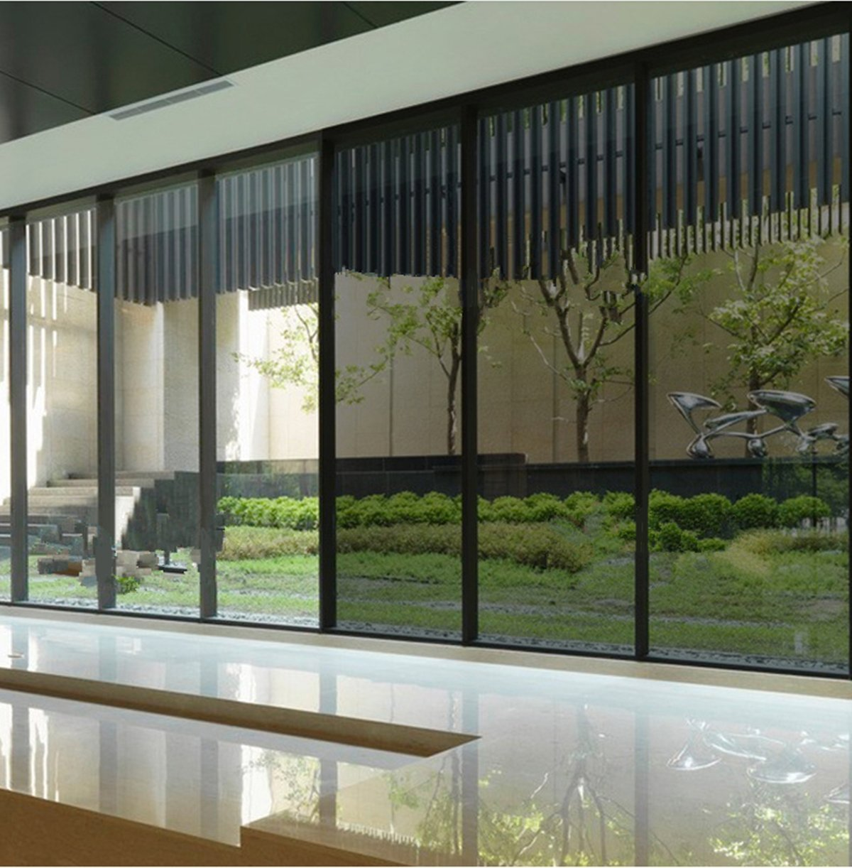 Reflective Window Tint Solar Film Privacy Sticker For Home