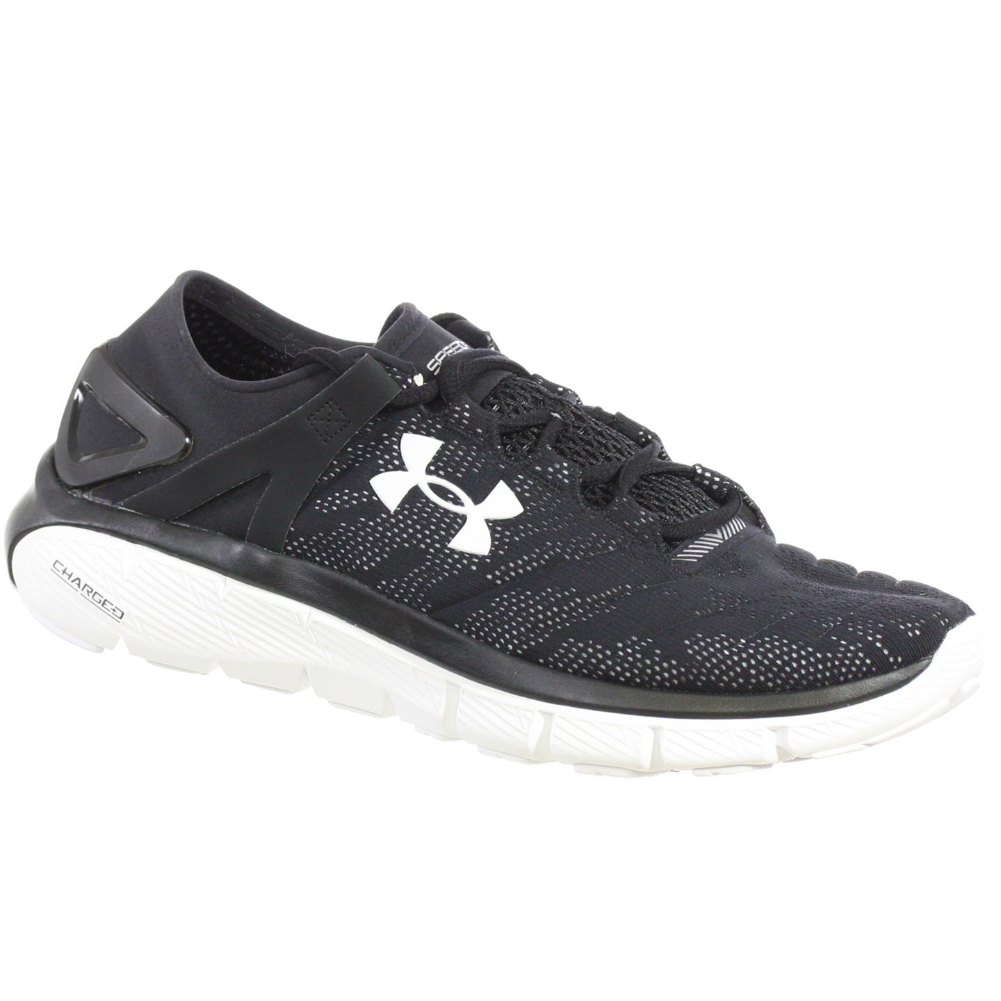 Under Armour - UNDER ARMOUR WOMEN S ATHLETIC SHOES SPEEDFORM FORTIS VENT  BLACK WHITE 11 M - Walmart.com 3d3f791479