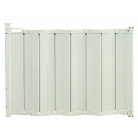 babydan guard me retractable gate 22 35 white. Black Bedroom Furniture Sets. Home Design Ideas