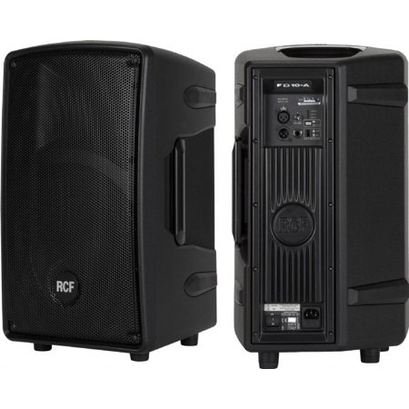 RCF FD10A Speaker System - 400 W RMS Rcf Professional Speakers