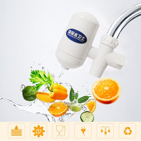 Link Filter Tap - Kitchen Water Filter Faucet Healthy Ceramic Cartridge Tap Purifier With Switch