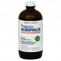 American Health Probiotic Acidophilus Culture Plain Flavor - 16 Oz